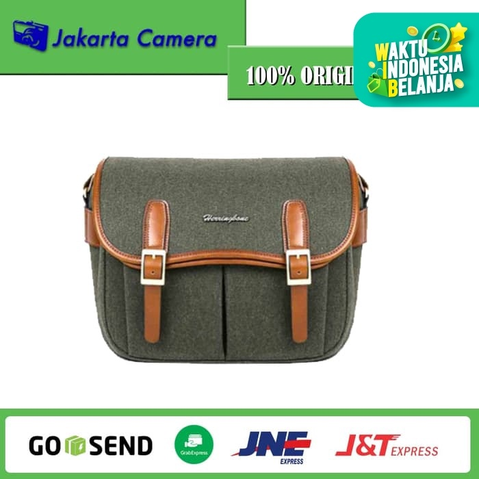 Foto Produk Tas Kamera Herringbone Maniere Medium Camera Bag - Olive dari JakartaCamera