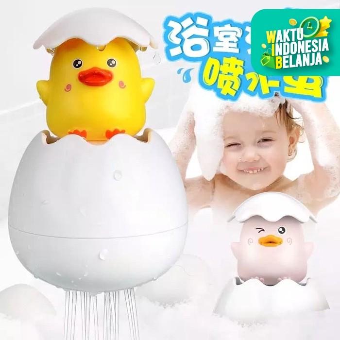 Foto Produk MB201 Mainan Mandi Anak Bayi Semprotan Air Telur Bebek Semprot Air dari Mmtoys Indonesia