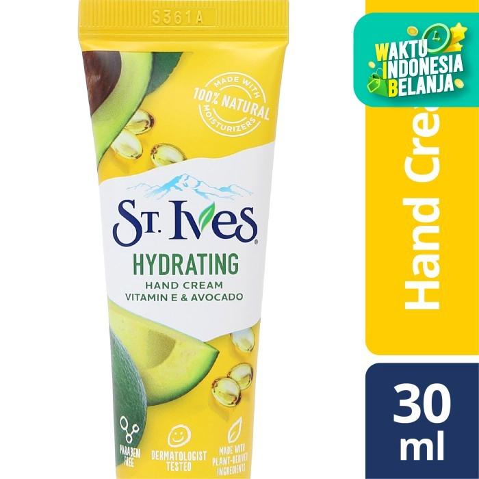 Foto Produk St Ives Hydrating Vitamin E & Avocado Hand Cream 30Ml dari Unilever Official Store