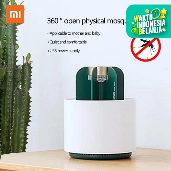 Foto Produk Xiaomi Sothing Cactus Mosquito Killer Light Eletric USB UV Light dari zekate