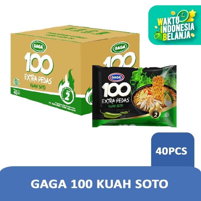Foto Produk GAGA 100 Soto Extra Pedas (1 dus = 40 pcs) dari Gaga Official Store