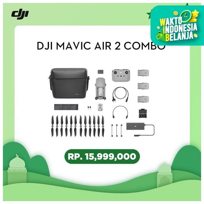 Foto Produk DJI Mavic Air 2 Combo dari DJI OFFICIAL STORE