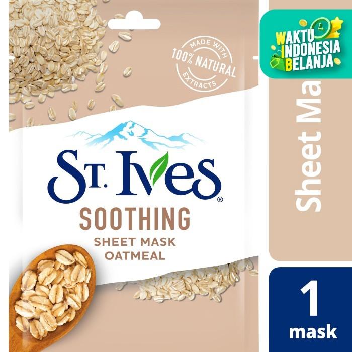 Foto Produk St.Ives Soothing Sheet Mask 230Ml dari Unilever Official Store