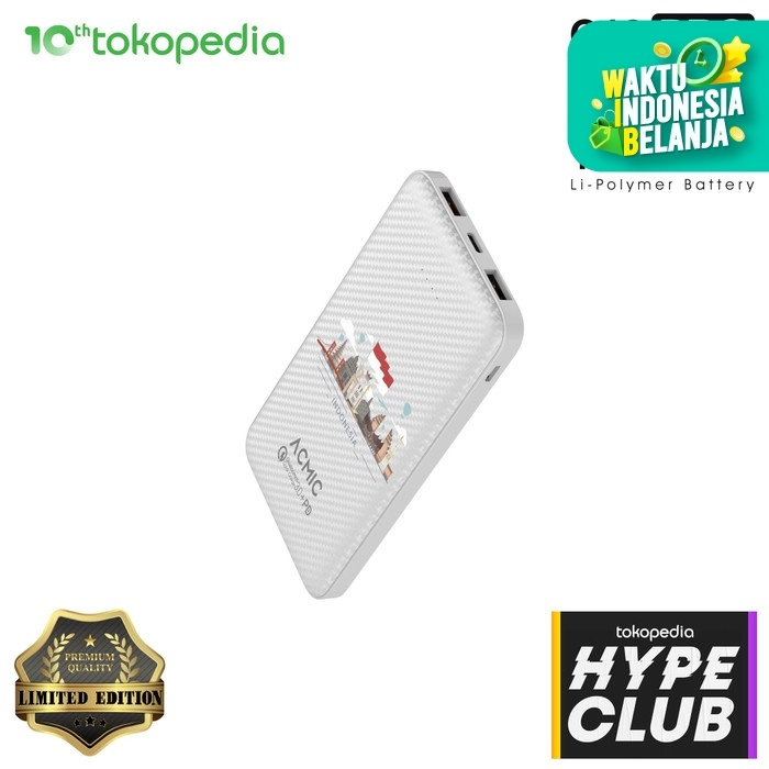 Foto Produk ACMIC C10PRO 10000mAh PowerBank QC3.0 + PD (Special Limited Edition) dari ACMIC Official Store