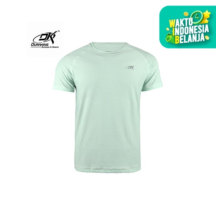 Foto Produk Running Jersey - DK Basic Color Tee Man Light Tosca - S dari Duraking Outdoor&Sports
