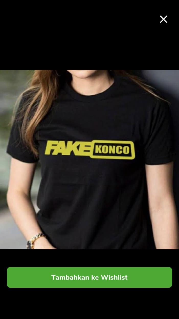 Jual KAOS DISTRO FAKE KONCO BAJU TSHIRT GAUL FASHION LUCU Jakarta Pusat Headhunter Sport