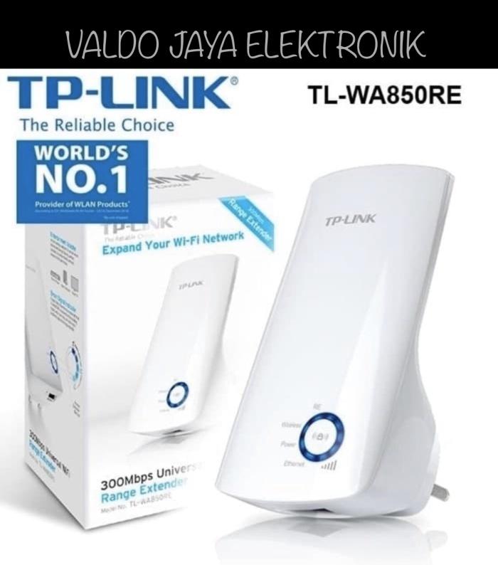 Foto Produk TP-LINK TL-WA850RE-Penguat Signal WIFI Extender TP-LINK ORIGINAL dari VALDO-JAYA-ELEKTRONIK
