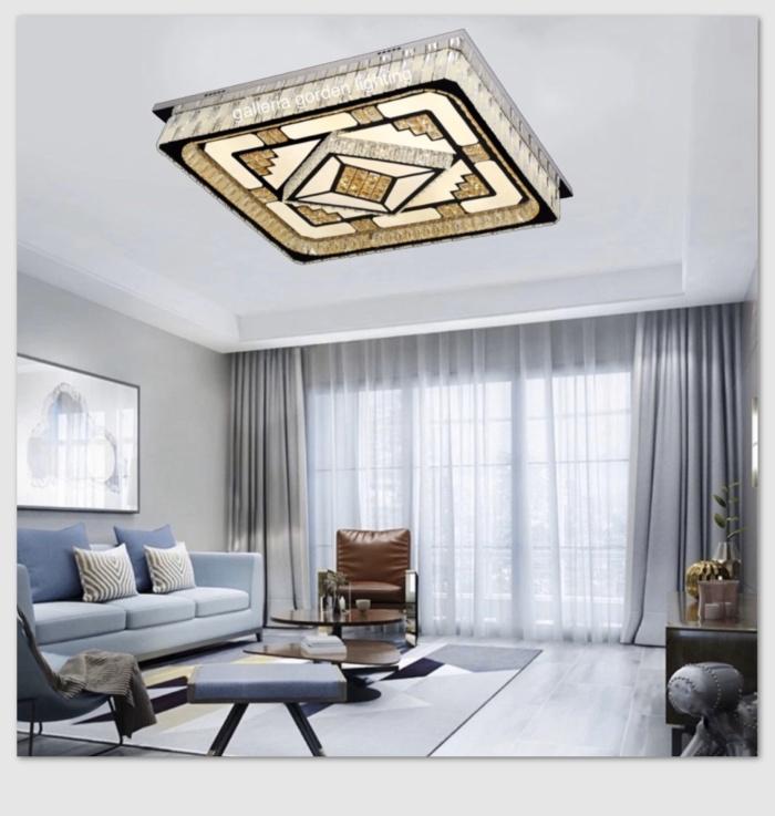 Jual Lampu Hias Kristal Led Dekorasi Ruang Tamu Minimalis 7035 95x75 Jakarta Pusat Galleria Gorden Lighting Tokopedia