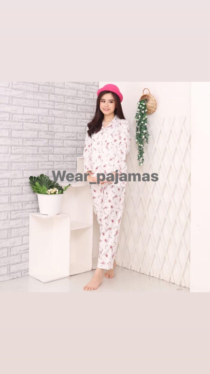 Foto Produk PIYAMA LENGAN PANJANG SATIN MAXMARA dari Wear Pajamas