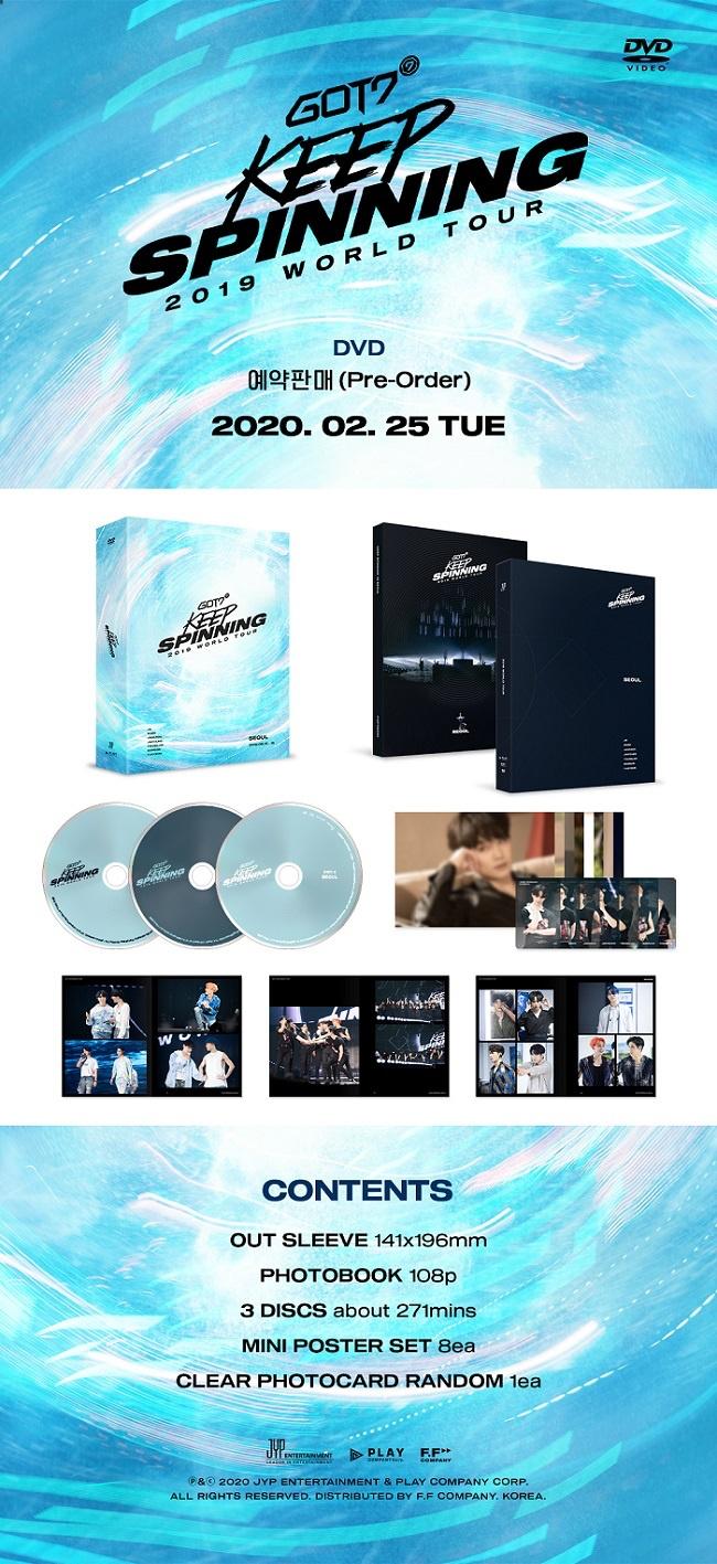 Jual GOT7 2019 WORLD TOUR KEEP SPINNING IN SEOUL [DVD] Kota Tangerang Dharu Elfshop