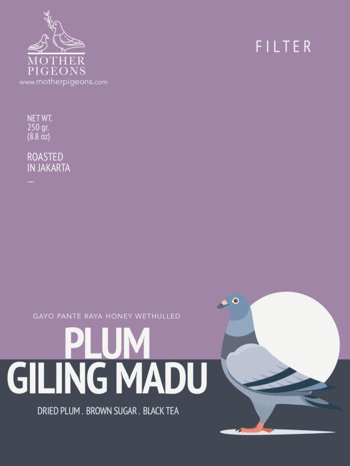 Foto Produk Plum Giling Madu (Gayo Pante Raya Honey Wethulled) dari Motherpigeons Roaster
