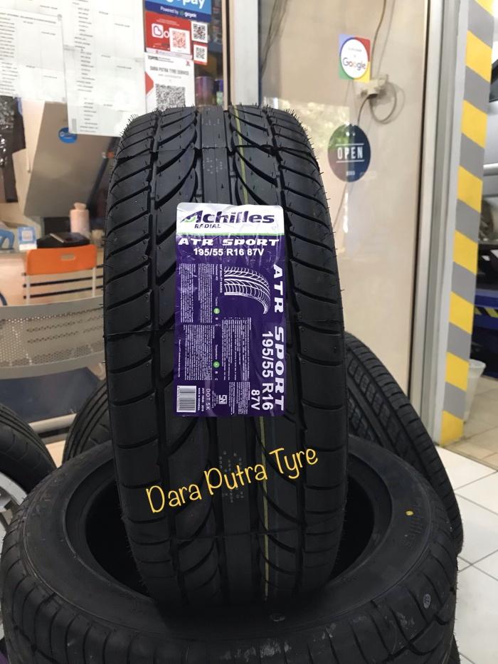 Jual Ban Murah Achilles Atr Sport 195 55 R16 Kota Bekasi Dara Putra Tyre Service Tokopedia