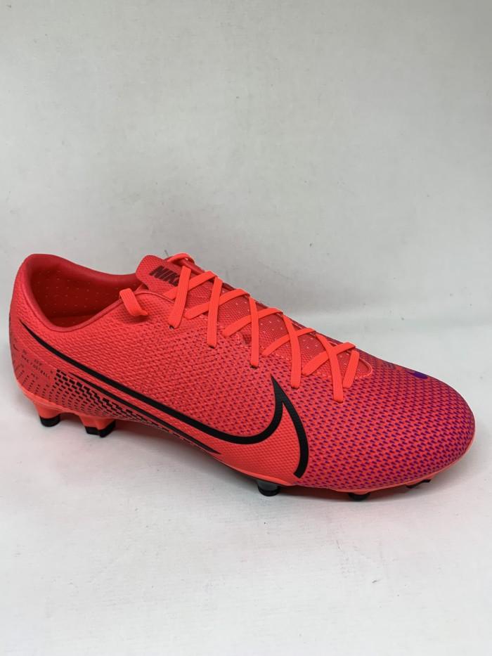 Promo Sepatu Bola Nike Original Vapor 12 Academy Fg Laser Crimson