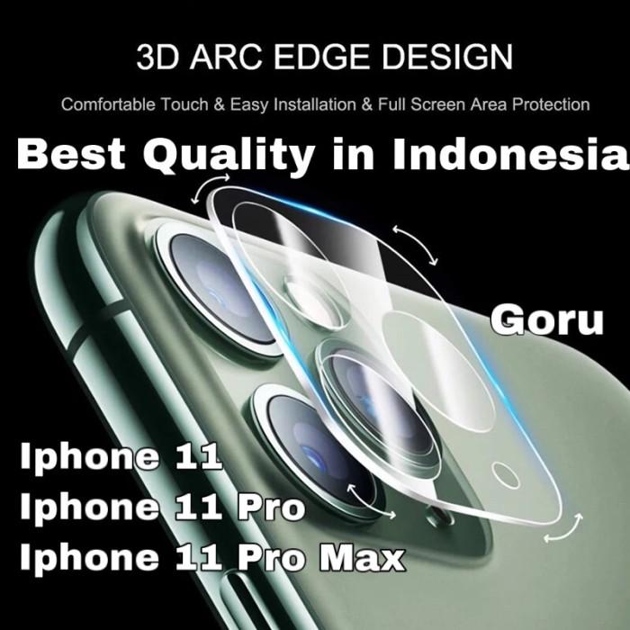 Foto Produk Tempered Glass Pelindung Camera Full cover clear iphone 11 11 Pro Max - iphone II dari goru