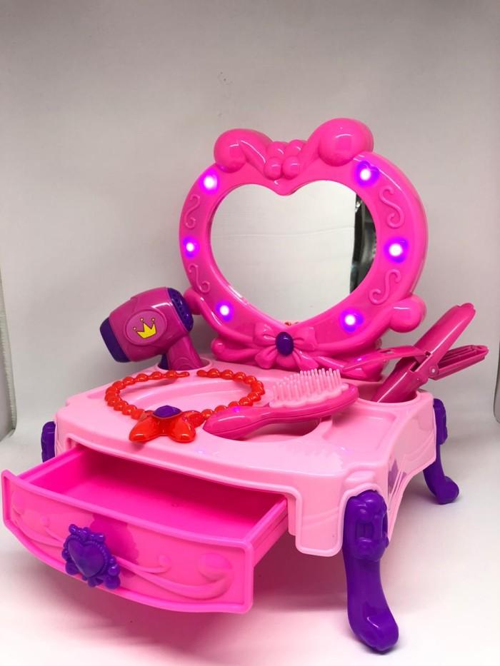 Foto Produk mainan anak naura electric meja rias / fashion set dari bintangjaya toys