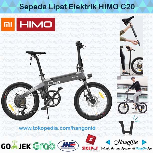 Foto Produk Xiaomi HIMO C20 Sepeda Elektrik Lipat Smart Moped Bicycle 250W dari HangOn