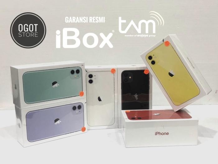 Jual IPHONE 11 64GB NEW GARANSI RESMI IBOX / TAM 1 TAHUN ...