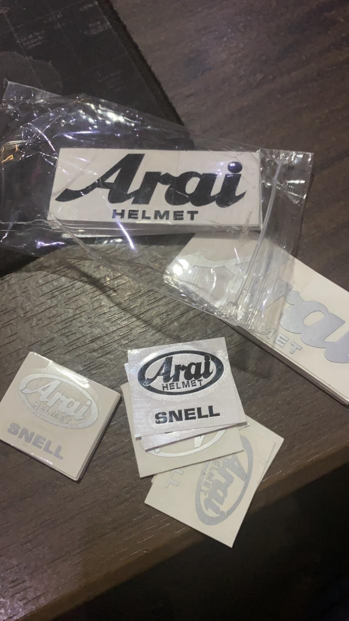 Foto Produk Sticker cutting arai for helmet tsr copy arai and snell dari BANDUNG APPARELS