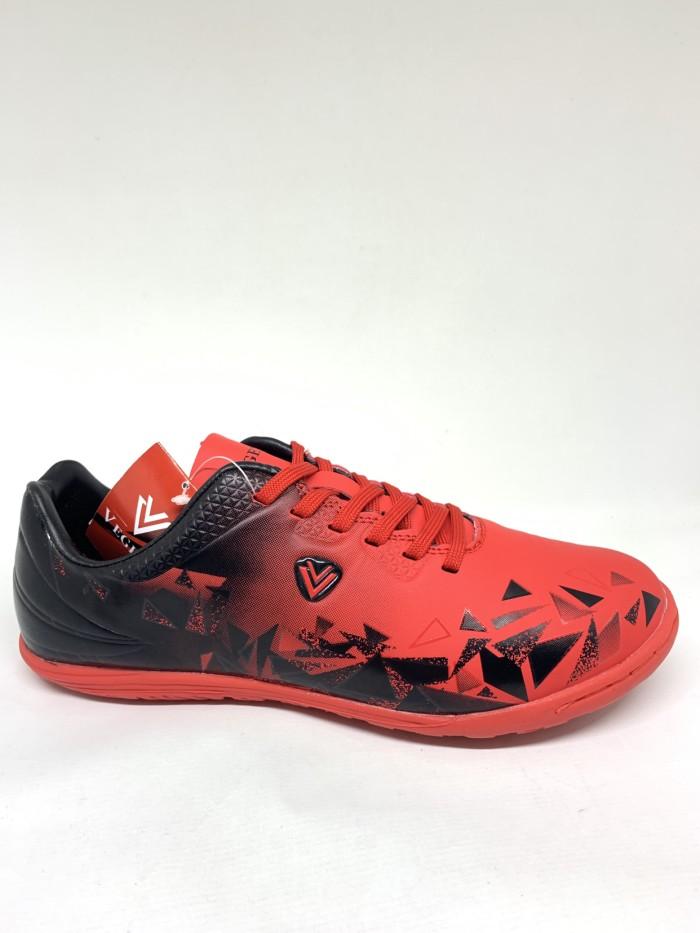 Foto Produk sepatu futsal vegeto GIBRAN RED BLACK original 100% new model 2020 dari Kicosport
