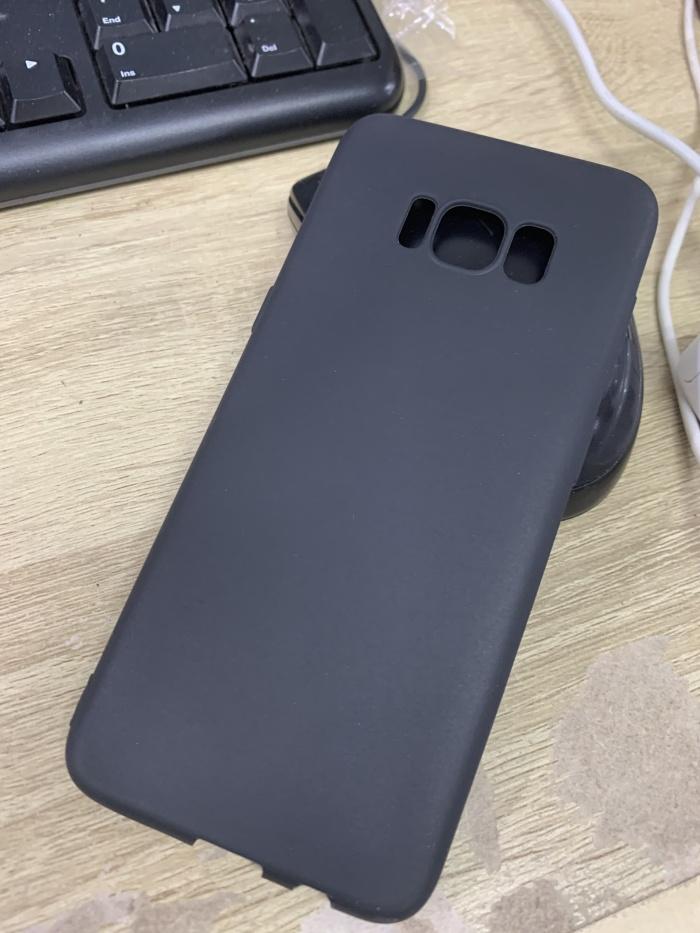 Foto Produk Samsung Galaxy S8 Slim Matte TPU Soft Case Anti Slip Silikon dari Honeycomb