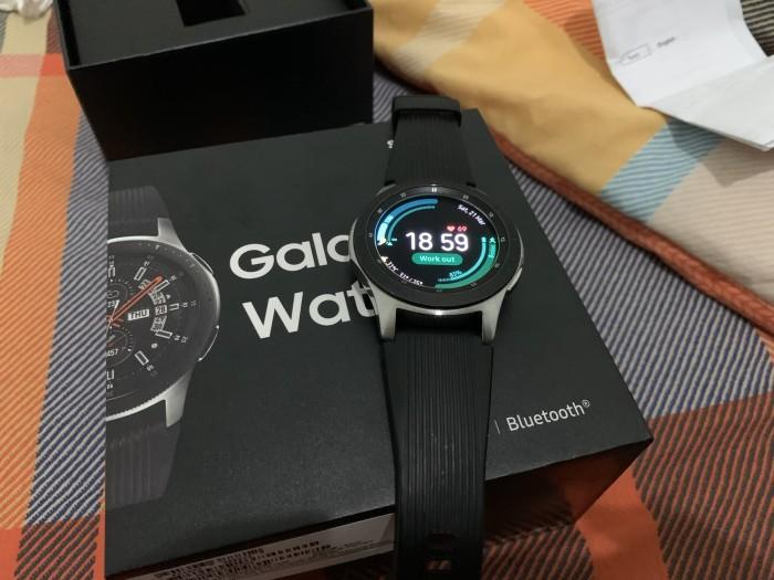 Foto Produk Samsung Galaxy Watch 46MM Bekas Mulus Fullset dari Bagsy Trades