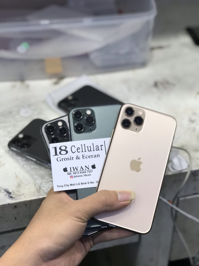 Foto Produk Iphone 11 pro 64gb second inter dari 18 cellular