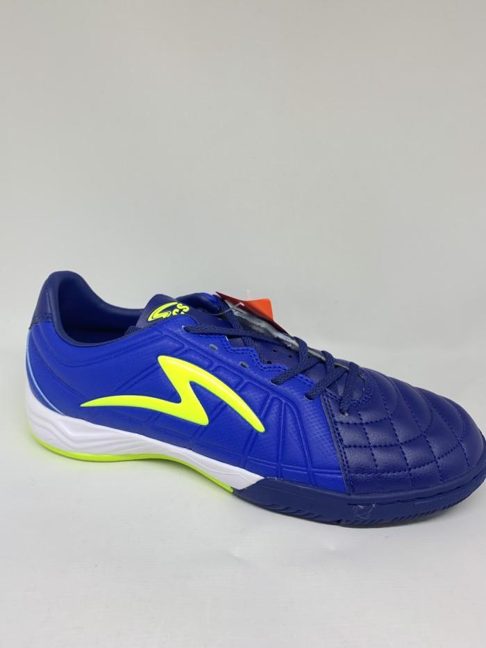 Foto Produk Sepatu futsal specs original Metasala Kaze navy stabilo new 2020 dari Kicosport
