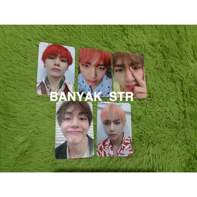 Jual Photocard V Bts Isi 5 Photocard V Taehyung Bts Isi 5 Kota Bekasi Banyakstr Tokopedia