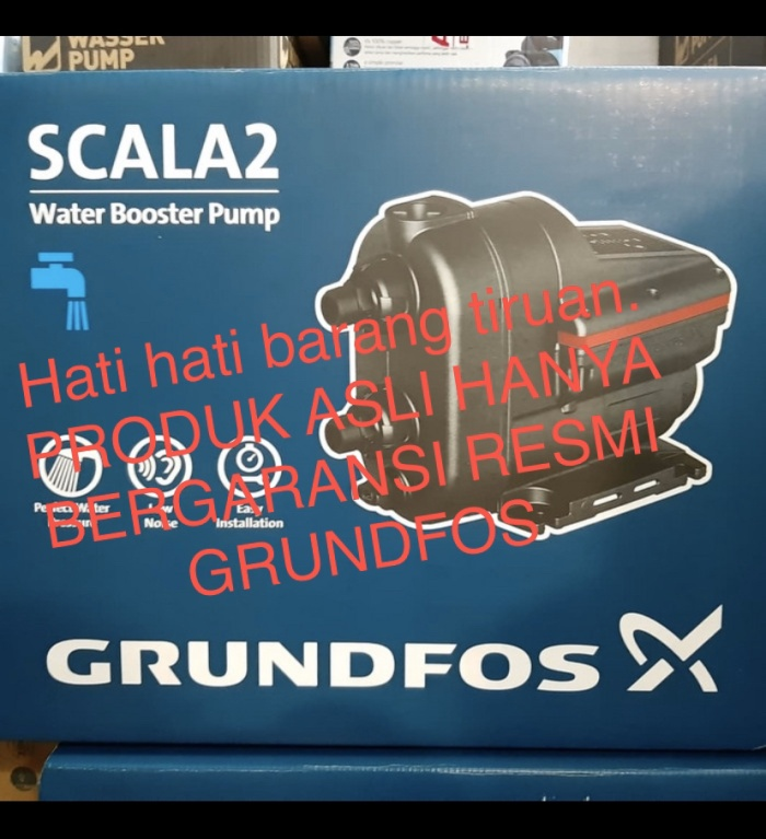 Foto Produk pompa air booster grundfos scala2 scala 2 dari Mitrapompa