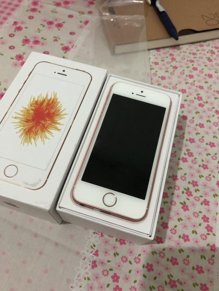 Foto Produk iPhone SE 64GB Rose Gold Bekas Mulus Fullset OEM dari Bagsy Trades