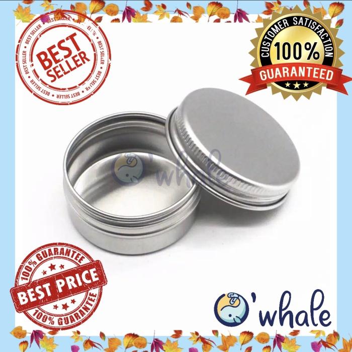 Foto Produk Jar Mini Alumunium 10G/ Pot Pomade/ Lip Balm/ Jar Alumunium dari Owhale