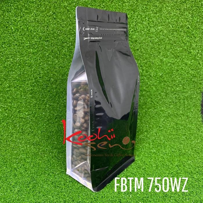 Foto Produk FB-TM-750Z Flat bottom Transparant Metalized - Kemasan Food grade dari Palem Ceria Shop
