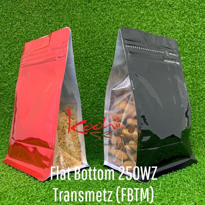 Foto Produk FB-TM-250Z Flat bottom Transparant Metalized - Kemasan Food grade dari Palem Ceria Shop