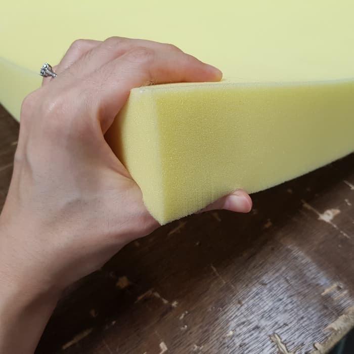 Foto Produk KHUSUS GOJEK/GRAB Busa kasur kuning yellow density 26- matras dari Semesta Raya.co