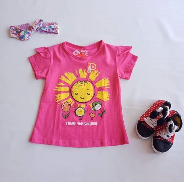 Foto Produk Kaos Anak Cewek Paddle Kids + Pink sunsine dari Danisha Collections Dps