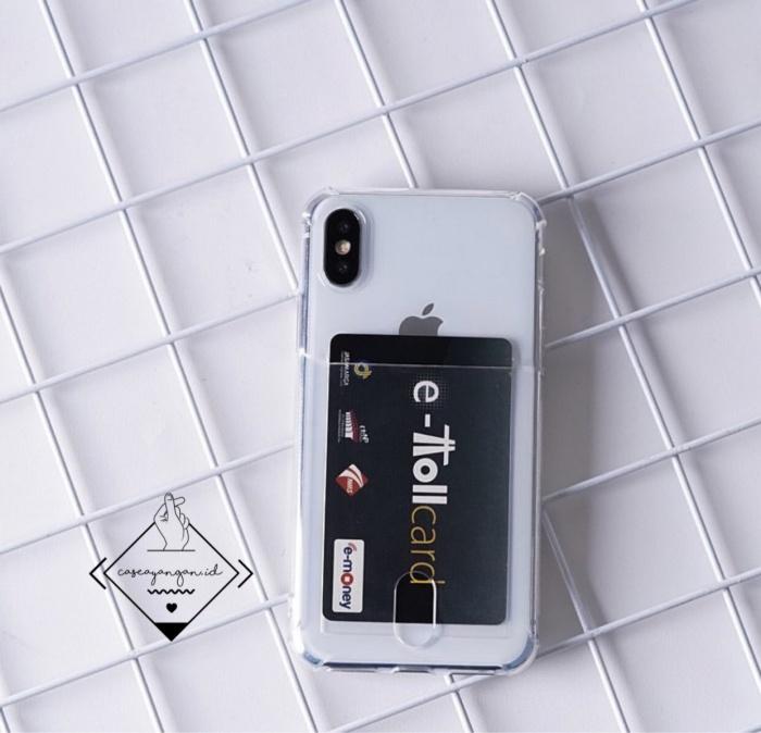 Foto Produk Pocket anticrack card case iphone 5 5S SE 6 6s 7 plus 8 X XS XR MAX - IPHONE 5 5S SE dari Caseayangan ID