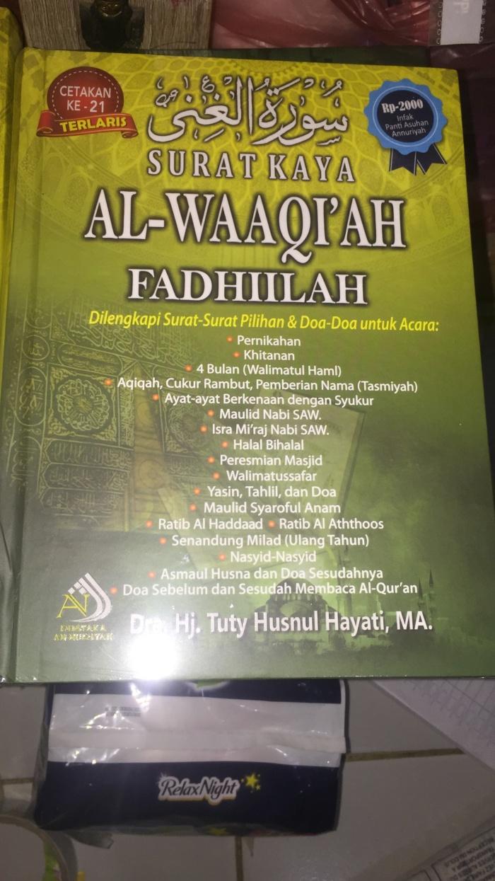 Jual Surat Kaya Al Waaqi Ah Fadhilah Terlaris Kota Tangerang Ika Ismaya