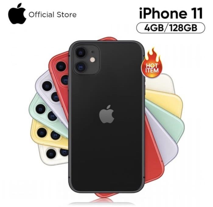 Jual APPLE IPHONE 11 128GB GRS RESMI IBOX INDONESIA ...
