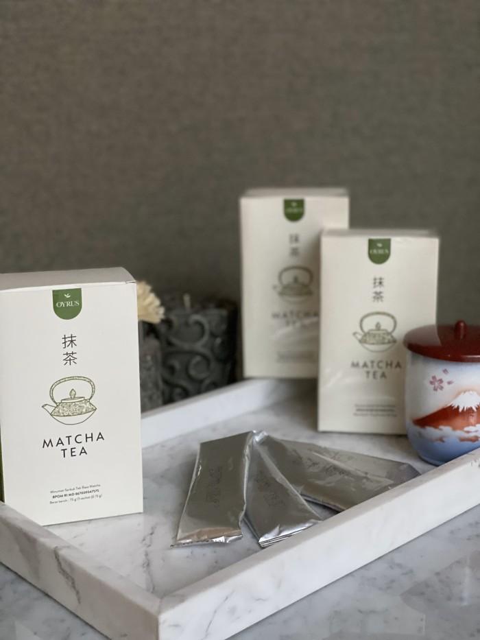 Foto Produk Oyrus Matcha 3 Packs Hemat dari Heavenlee Shop