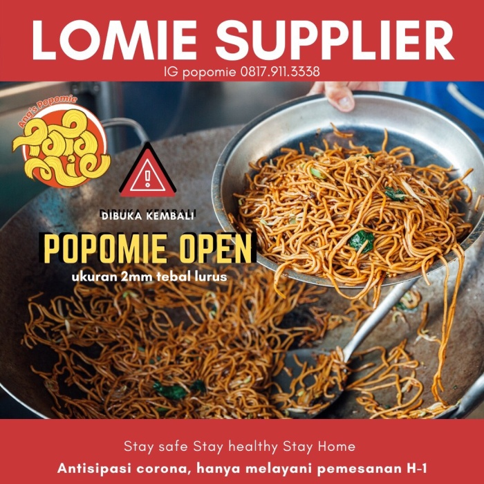 Foto Produk LoMie Siap Masak dari Popomie
