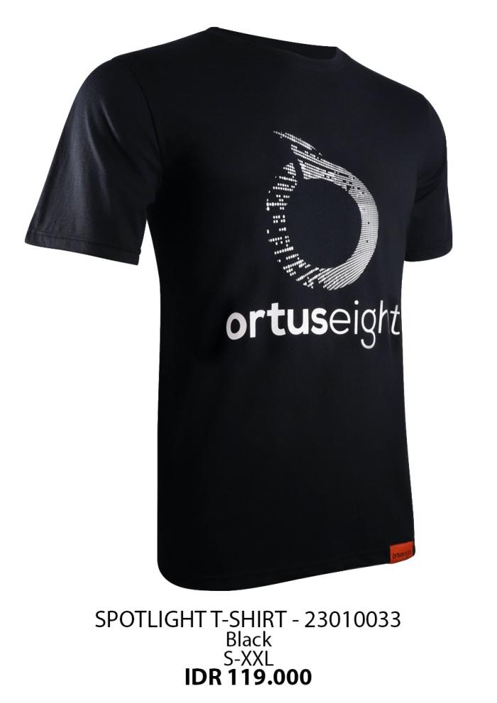 Foto Produk Kaos katun Ortuseight original SPOTLIGHT T-SHIRT black new 2020 dari Kicosport