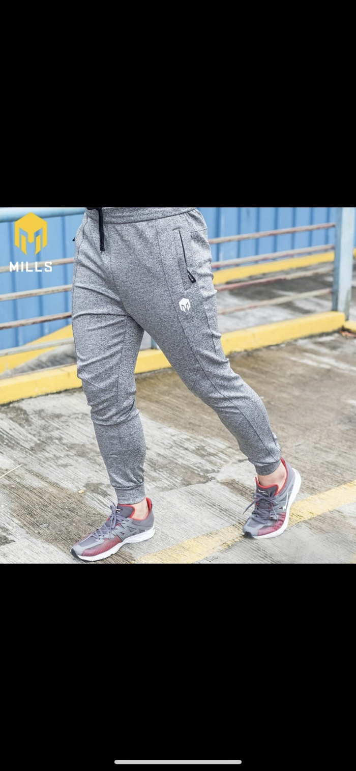 Foto Produk Celana olahraga MILLS Original Core Long Pants misty grey new 2020 dari Kicosport