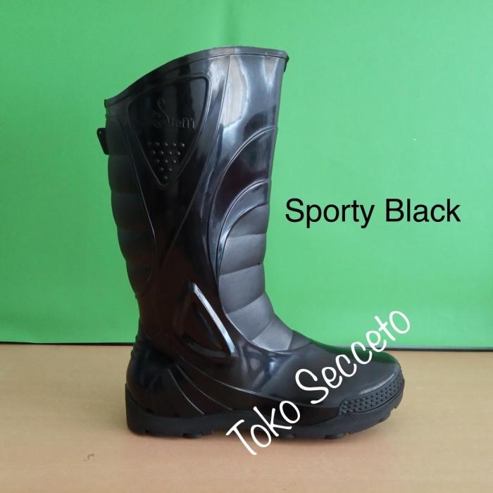 Foto Produk Sepatu Boots Sporty / Steffi Boots / Working & Safety Boots dari Secceto