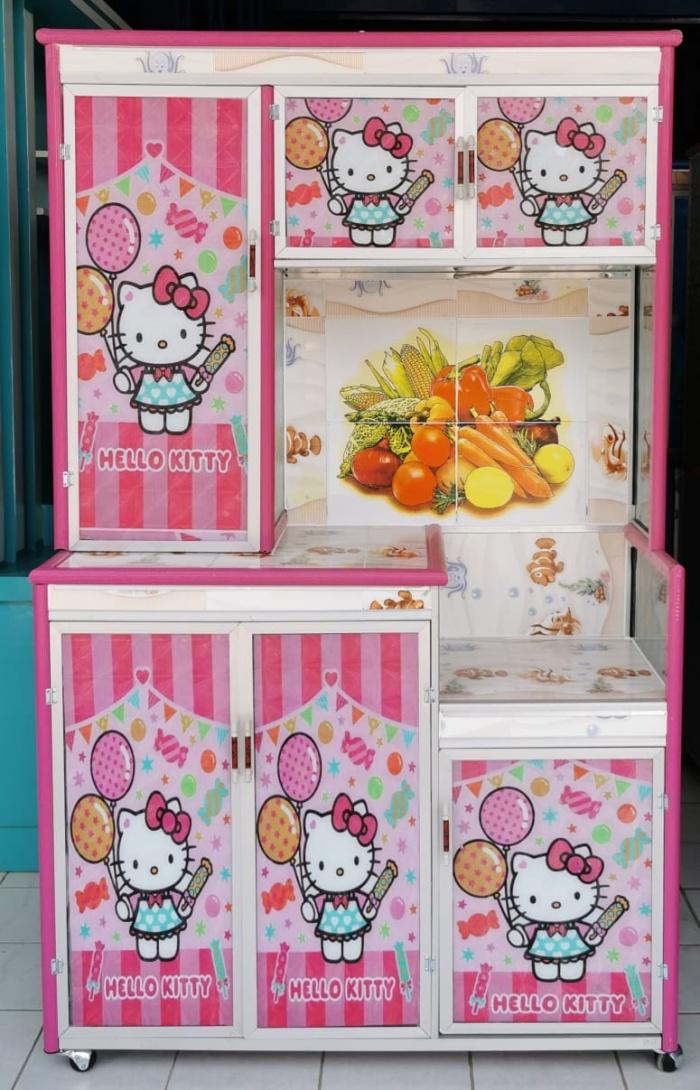 Harga Rak Piring Hello Kitty Goreng