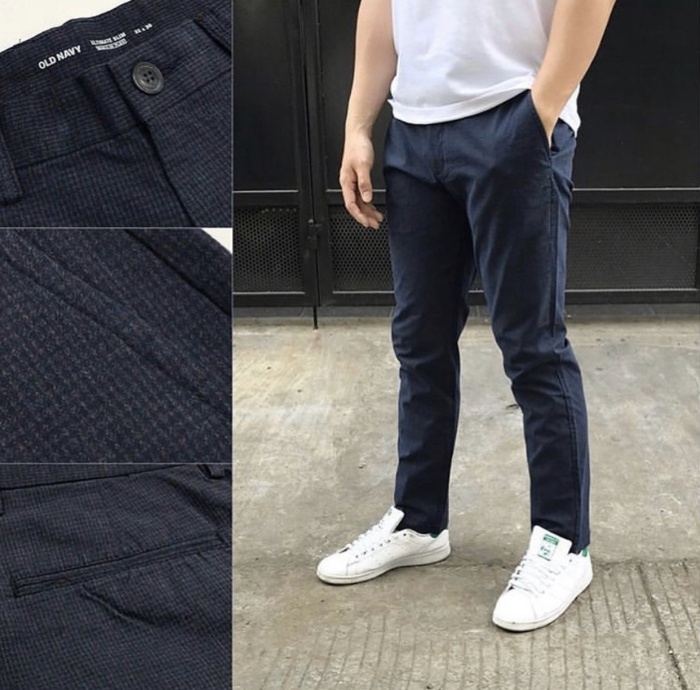 Foto Produk Celana Old Navy Ultimate Slim Built Flex Chino Dark Navy Original dari OTOMO Store