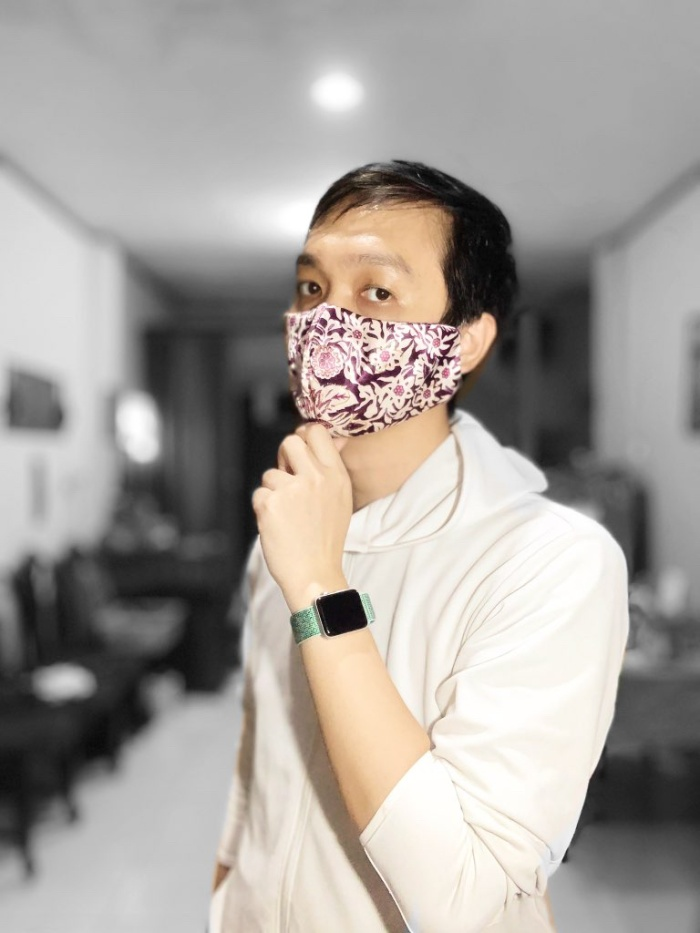 Jual Masker kain motif ukuran besar - Jakarta Timur - oe ...