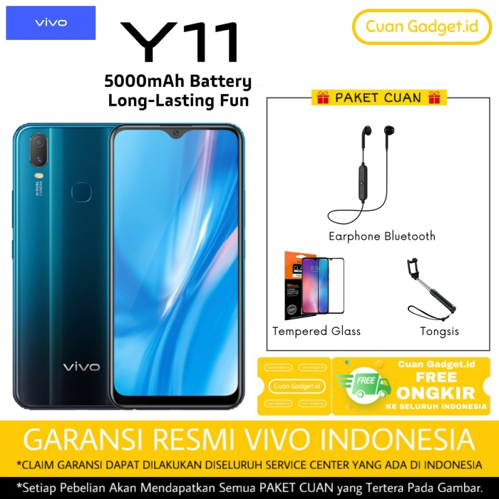 Foto Produk VIVO Y11 2/32 Garansi Resmi dari Cuan Gadget.id