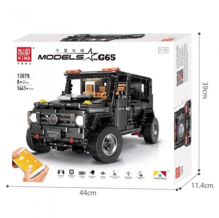 Jual Mould King 13070 G65 Jeep Sports Car Remote Control Kota Depok Lego Transformers Tokopedia