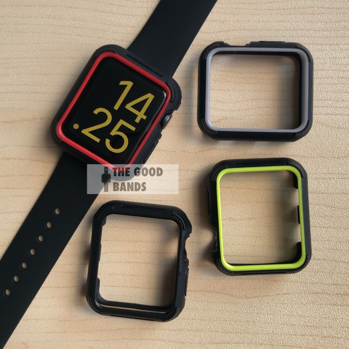 Foto Produk Case Apple Watch 2 3 4 5 Rubber Silicon Nike Casing TPu 38mm 42mm dari The Good Bands