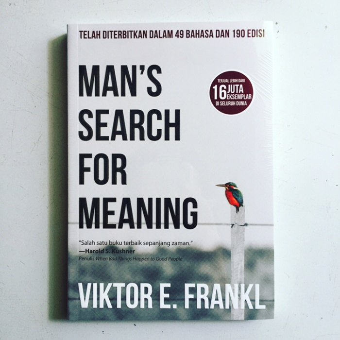 Foto Produk Mans Search for Meaning dari Kafe Buku Fajar